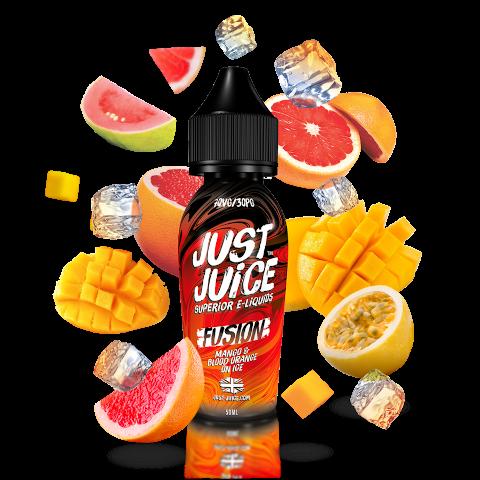 Fusion Mango & Blood Orange on Ice by Just Juice