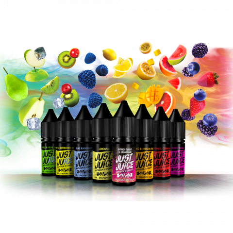 50/50 Full Range Superior eLiquid from Just Juice