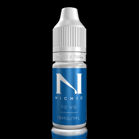 Nic Nic 70vg 18mg Nicotine Shot