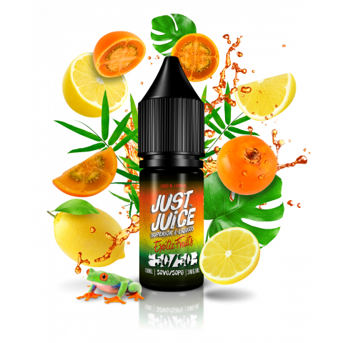 Lulo & Citrus 50/50 Exotic Fruits  by Just Juice