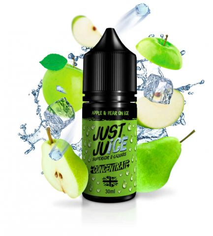 Apple & Pear on Ice 30ml Concentrate eLiquid by Just Juice