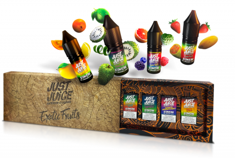 Limited Edition Exotic Fruits Nic Salt Box