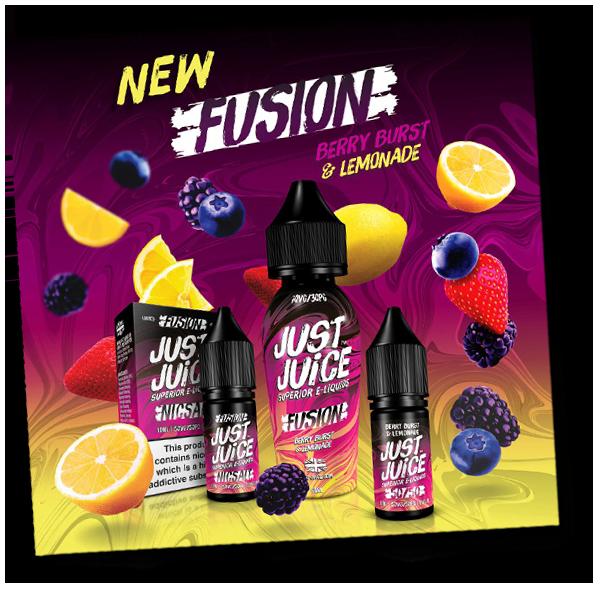 Just Juice Berry Burst & Lemonade Limited Edition Fusion